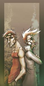 Denilou & Rosita by Kimbot