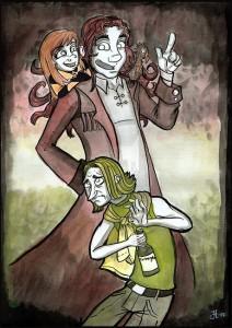 Tova, Lorentz & Fozt by Jennula